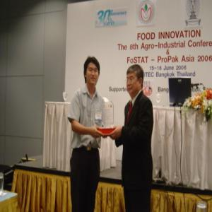 Award Recoqnition for Gaduated Research and Poster Competition